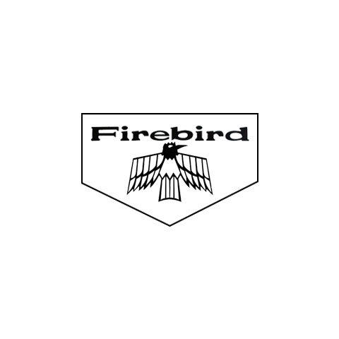 1967-1969 Pontiac Firebird Floormats, Block Letters, Bird
