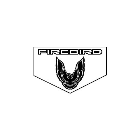 1982-1984 Pontiac Firebird Floormats, Block Letters, Bird