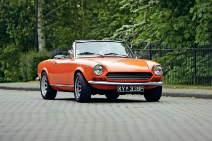 Fiat 124 Spider Classic Car Reviews Classic Motoring