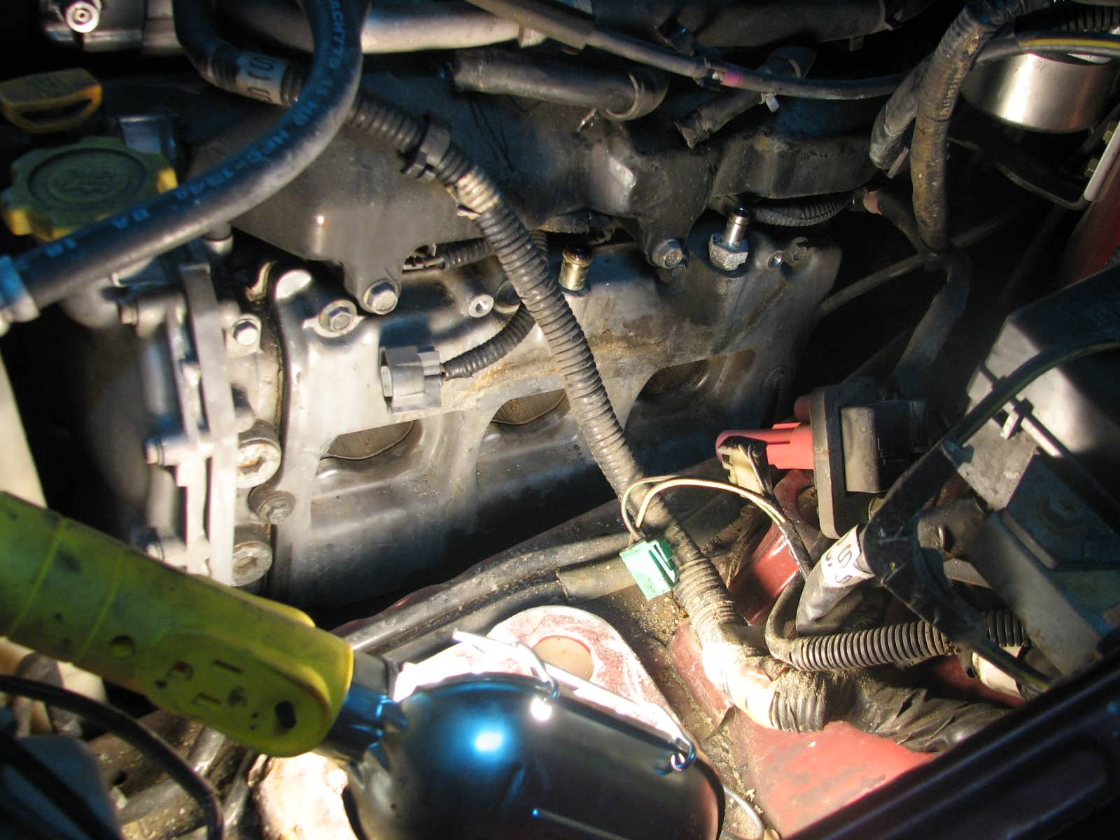 below: This is a great time to clean up the valve cover and make it look  new once again! I love clean parts! Buy your new gaskets from a local Subaru  dealer ...