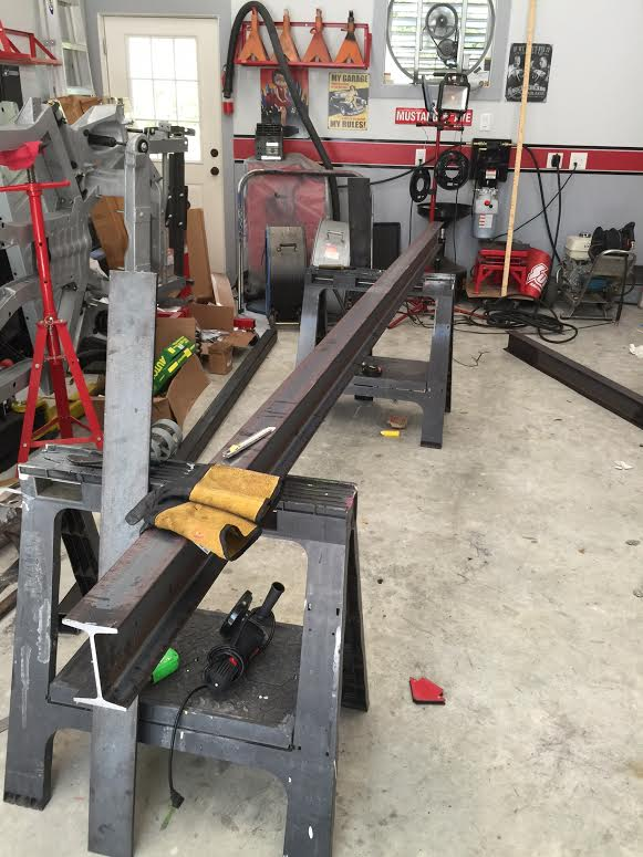 Homemade Gantry crane | Classic Cars and Tools
