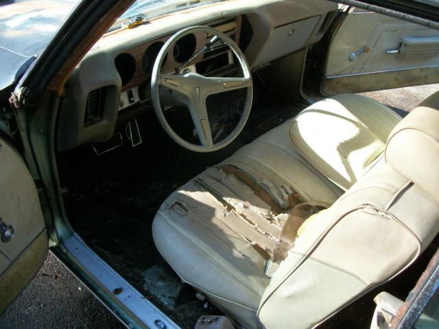 1970 Pontiac Le Mans Interior