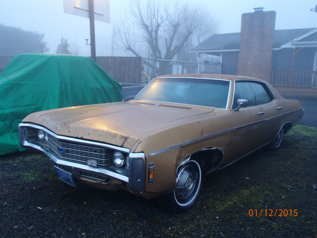 Seller Of Classic Cars 1969 Chevrolet Impala GoldGold