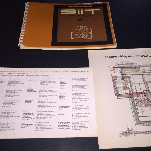 wiring diagram, porsche seller of classic cars - 1970 porsche 911  (silver/black w