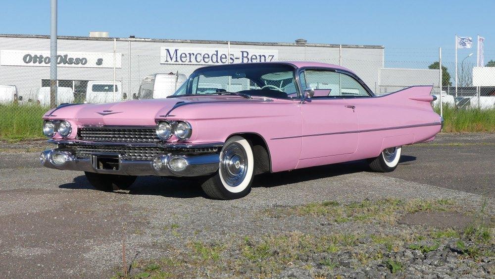Cadillac Coupe Deville 1959 (1)