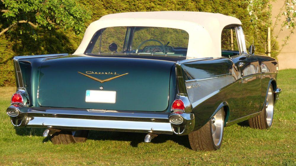 Chevrolet Bel Air 1957 Convertible (27)
