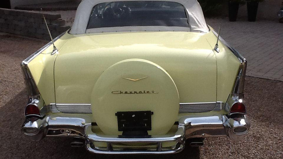 Chevrolet Bel Air 1957 Convertible (6)