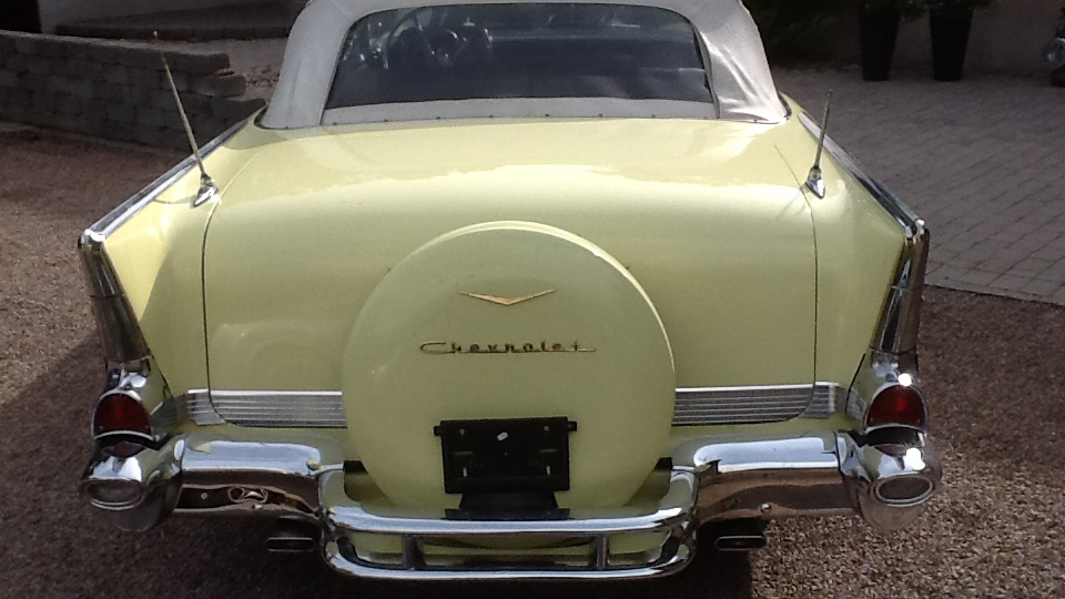 Chevrolet Bel Air 1957 Convertible (6)