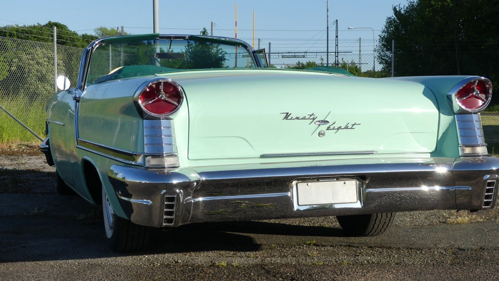 Oldsmobile Starfire 1957 98 Convertible (5)