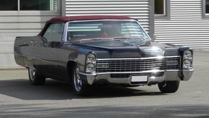 Cadillac De Ville 1967 Convertible (4)