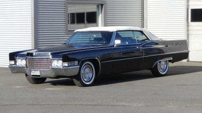 Cadillac Deville 1969 Convertible (1)