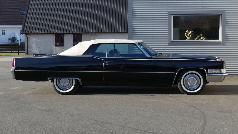Cadillac Deville 1969 Convertible (12)