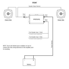 Rockford Fosgate Speaker Wiring Diagram Energy Saver Bulb Circuit Harley Davidson 2 Stereo Kit 98-13: R1-hd2-9813