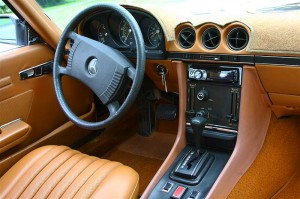 1977 Mercedes 450SL interior  CLASSIC CARS TODAY ONLINE