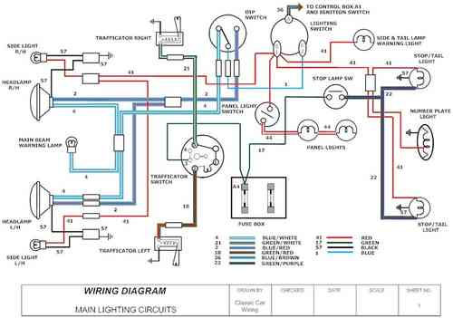 austin mini wiring diagram   26 wiring diagram images