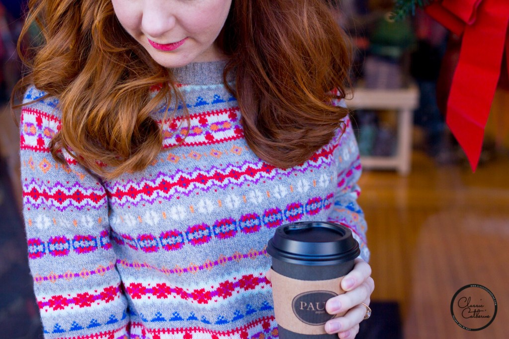 A Casual Christmas at Home in Fair Isle - Classic Catherine