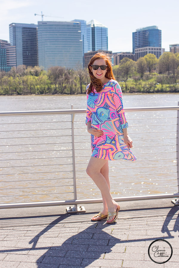 7d38594f8d08b Non-Maternity Lilly Pulitzer that Works for Maternity (Even at Nine ...