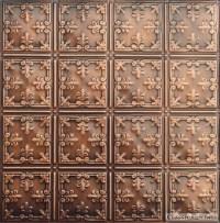 2x2 Antique Plated Tin Ceiling Design 210