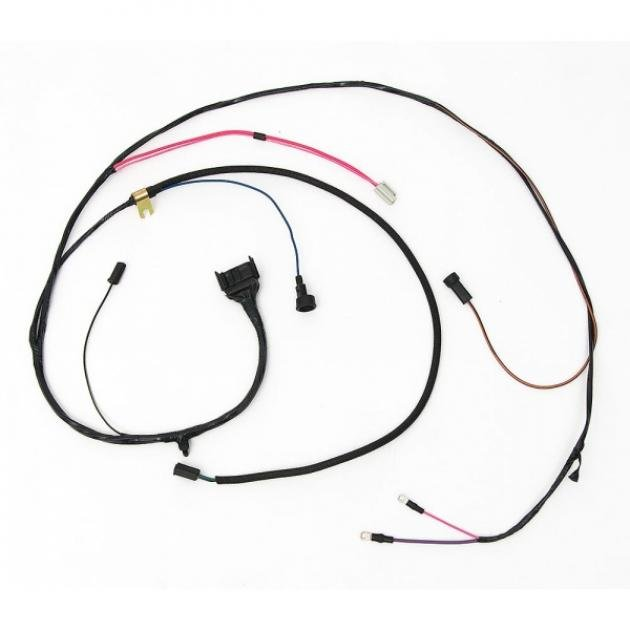 Full Size Chevy Engine Starter Wiring Harness, 409ci, With