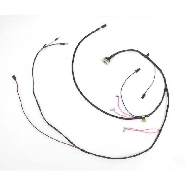 Full Size Chevy Engine & Starter Wiring Harness, 409ci, 1963