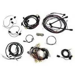 Chevy Wiring Harness Kit, V8, Manual Transmission, With