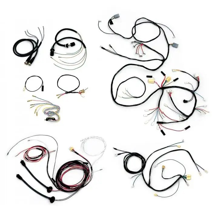 Chevy Wiring Harness Kit, V8, Automatic Transmission