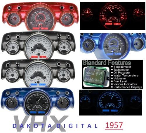 small resolution of 1957 dakota digital new gauges new parts 1957 dakota digital new gauges 57 chevy under hood wiring harness