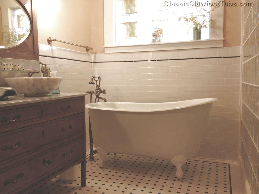 535 Cast Iron Swedish Slipper Tub Classic Clawfoot Tub