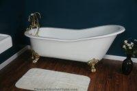 Used Cast Iron Clawfoot Bathtub - Bathtub Ideas