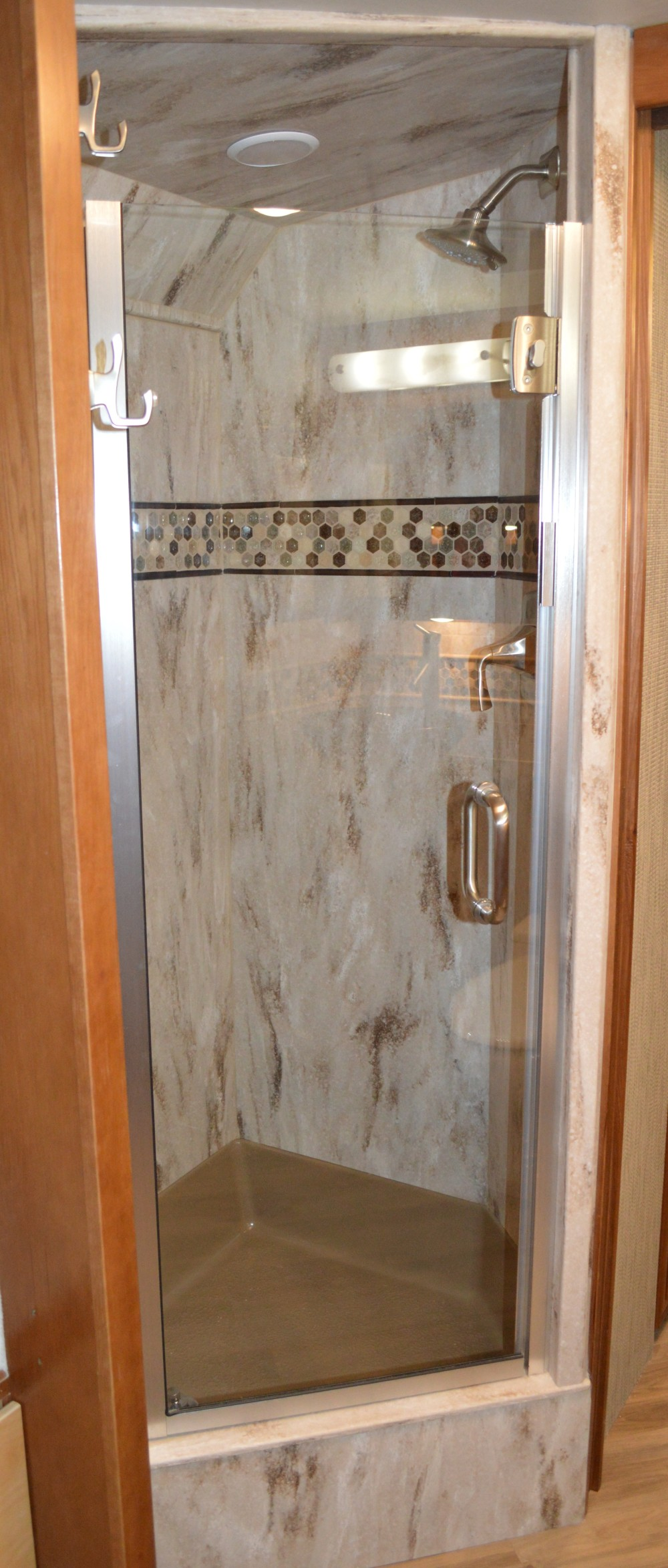 Showers  RV Renovations by Classic Coach Works