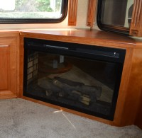 Fireplaces - RV Renovations by Classic Coach Works