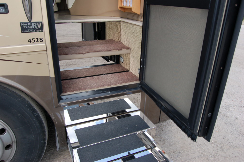 Entry Steps RV Renovations By Classic Coach Works