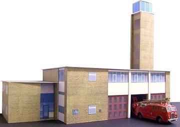 Kingsway Romford Fire Station Kit Build