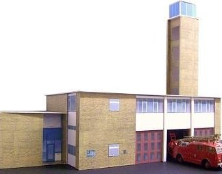 Kingsway Romford Fire Station Kit Build