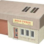 Metcalfe 00 Scale Modern Industrial Unit