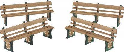 PO501 00 Scale G.W.R. Benches
