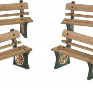 PO501 00 Scale G.W.R. Benches