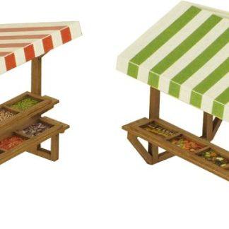 PO530 00 Scale Market Stalls