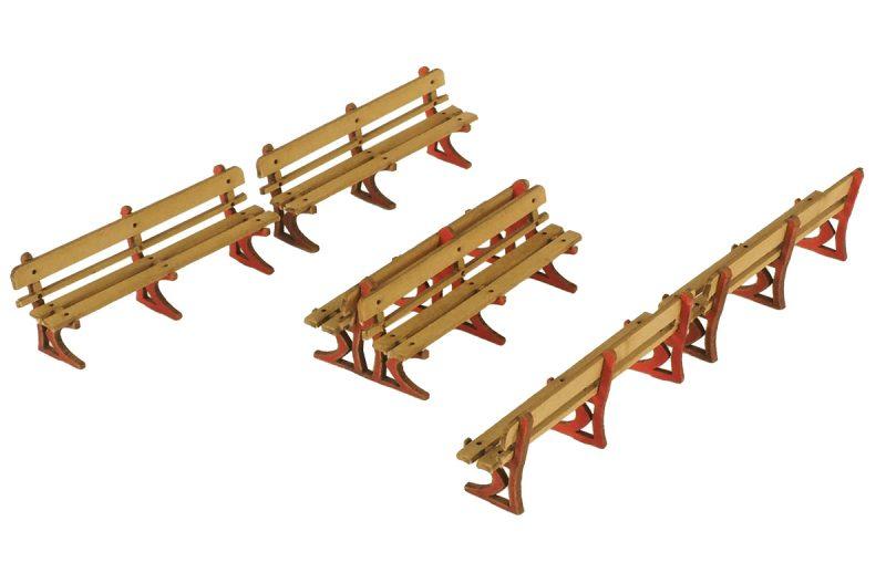 PO502 00 Scale Platform benches