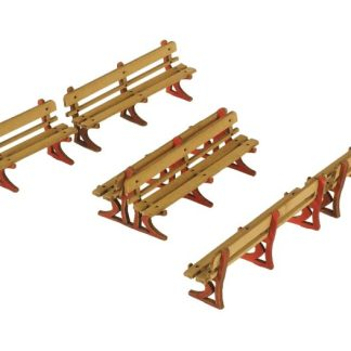 PO502 00 Scale Platform benches