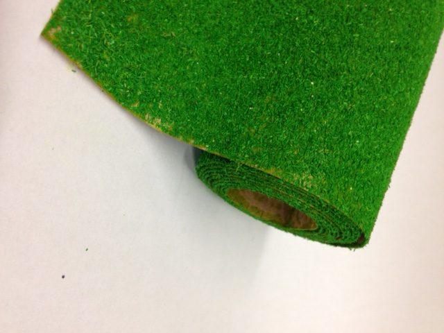 Javis 1200mm x 600mm or 300mm Landscape Mat, green No.15