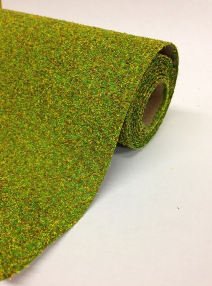 Javis 1200mm x 600mm or 300mm Landscape Mat, meadow green No.71
