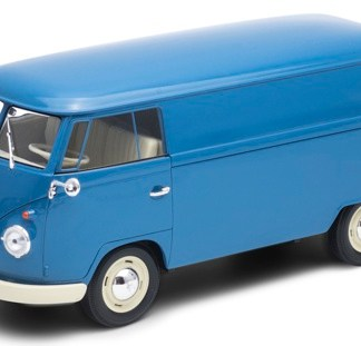 VW Classic Van In Blue