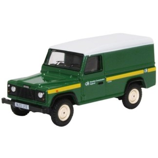 Oxford Models 1-76 Land Rover Defender Forestry Commission.