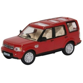 Oxford Models 1-76 Land Rover Discovery In Firenze Red