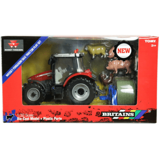 Britains Massey Ferguson Tractor Play Set 1/32 Scale Farm model