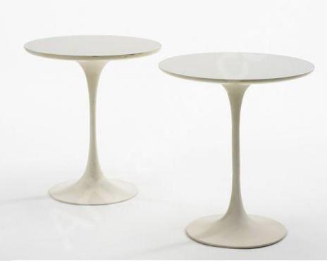coffee table by eero saarinen 1956 white marble