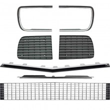 1967-68 CAMARO RS GRILL KIT WITHOUT HEADLIGHT BEZEL WITH