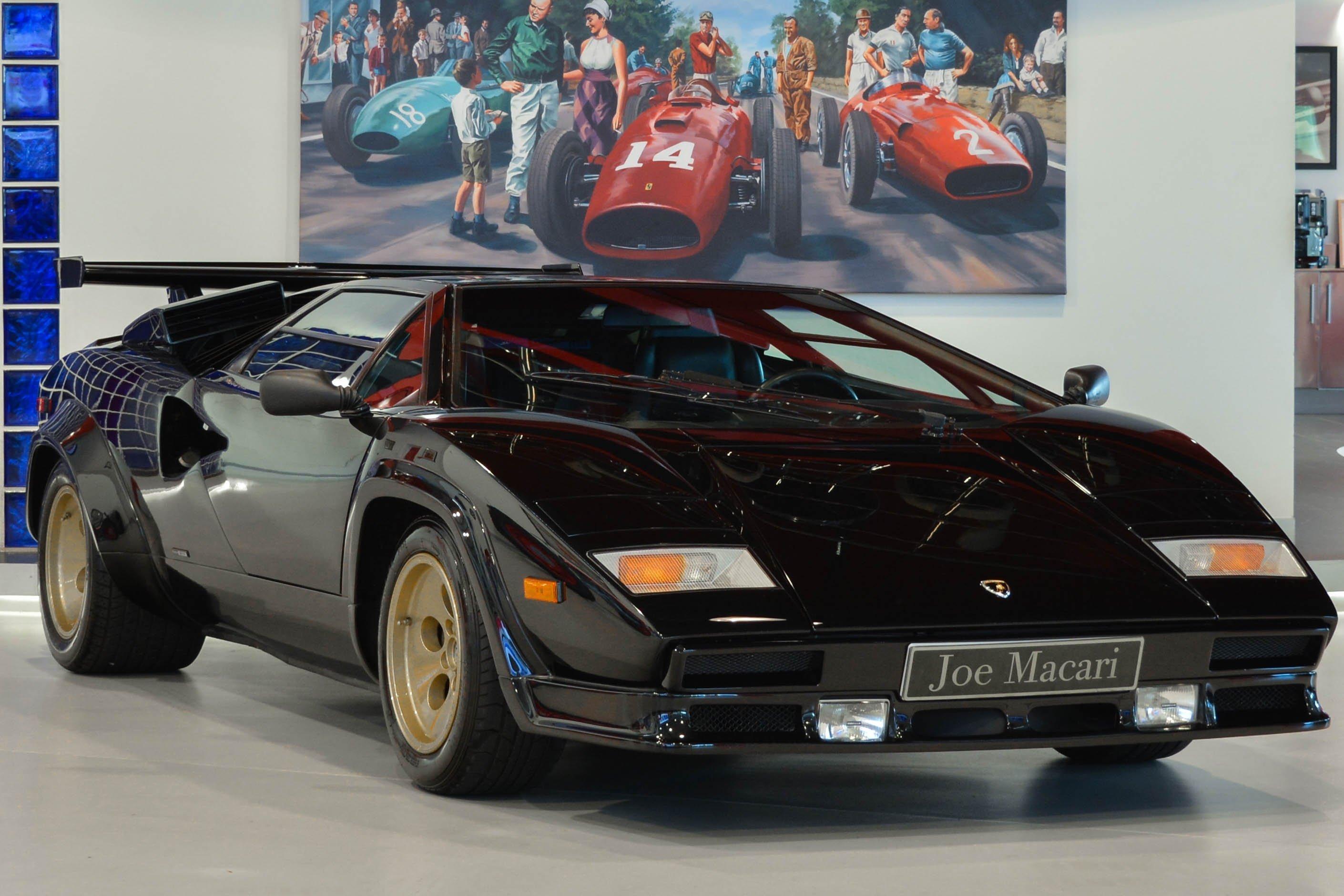 1987 Lamborghini Countach - 5000 QV   Classic Driver Market