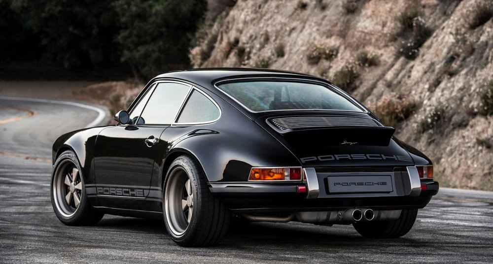 Car Money Watch Wallpaper Get Lost In The Black Beauty Of Singer S Swiss Porsche 911